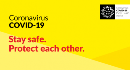 Coronavirus COVID-19. Stay safe. Protect each other.